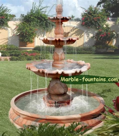 Small Home Garden Fountains Outdoor Waterfall Fountains Evening Marble Outdoor