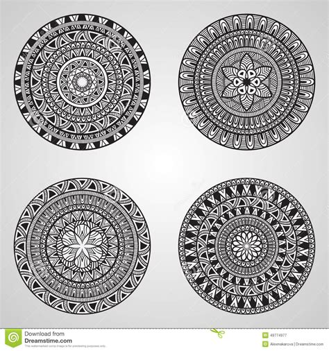 how to create my own doodle 4 vector doodle mandalas stock vector image