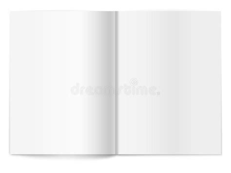 blank magazine spread template blank magazine spread template for design royalty free stock image image 23519176