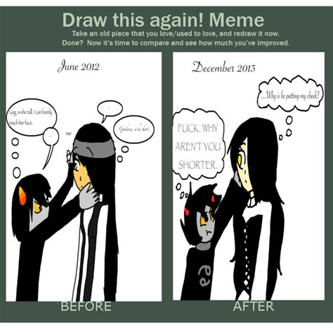 Draw This Again Meme Fail - draw this again meme shoosh fail by wildcatprincess4ever