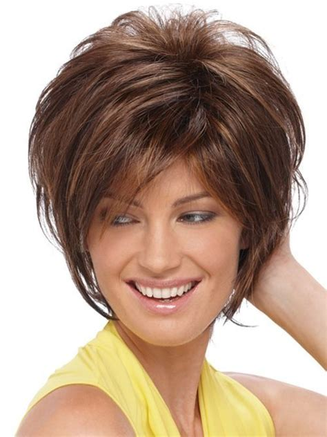 shagy short with silver highlights haistyles short hairstyles and color ideas for women over 40 new