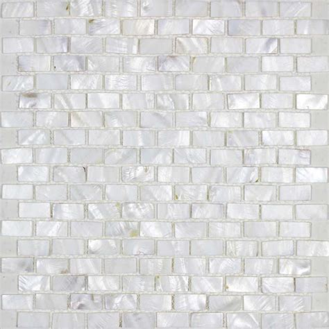 Of Pearl Floor Tile by Of Pearl Tile Shower Liner Wall Backsplash White