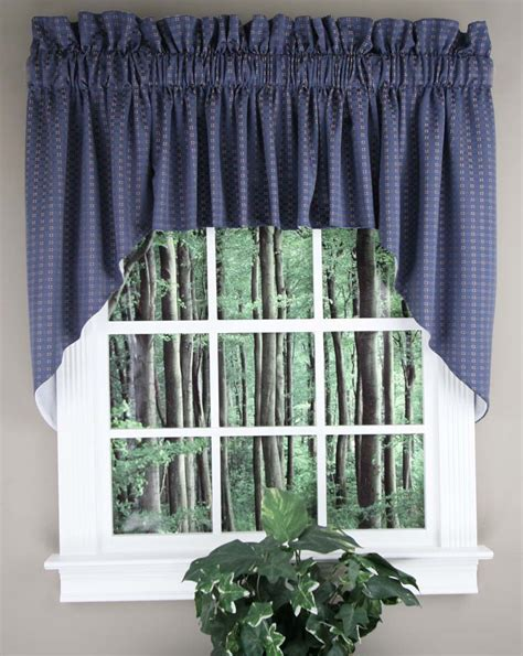 lined kitchen curtains boxwood lined swag set sand rhf jabot swag kitchen