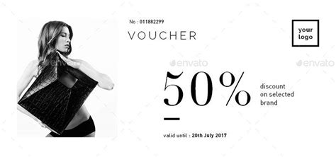 design by humans voucher fashion gift voucher by atensi graphicriver