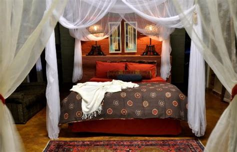 decorated bedrooms bedrooms are decorated safari style with rugs and