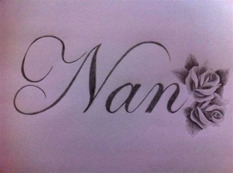nan tattoos on wrist nan writing tattoos gallery ideas
