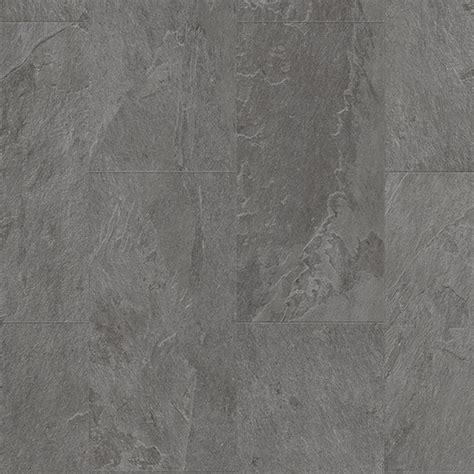 quickstep livyn ambient click 4 5mm grey slate tile vinyl flooring leader floors