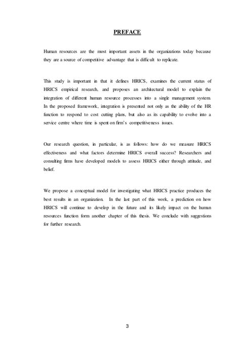 Mba Project Report On Hris by A Comprehensive Project Report On Hris