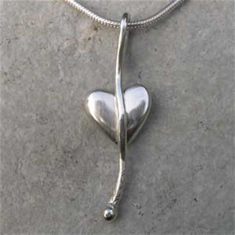 Handmade Silver Pendants Uk - handmade pendant