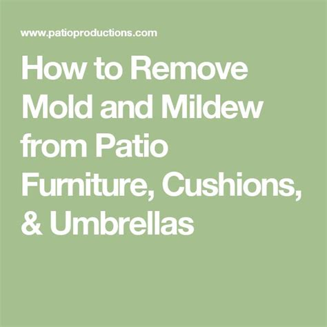 Remove Mildew From Patio Cushions by 25 Best Ideas About Patio Furniture Cushions On