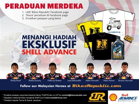 Sweepstakes Terms And Conditions - shell cup merdeka contest terms and conditions