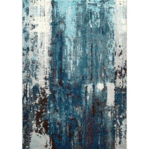 nuloom abstract haydee blue 9 ft x 12 ft area rug