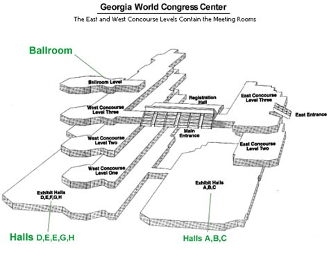 georgia world congress center floor plan congress center jeremy photos