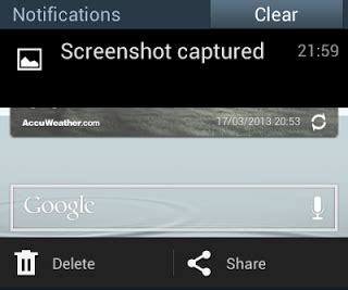 print screen android cara print screen di android
