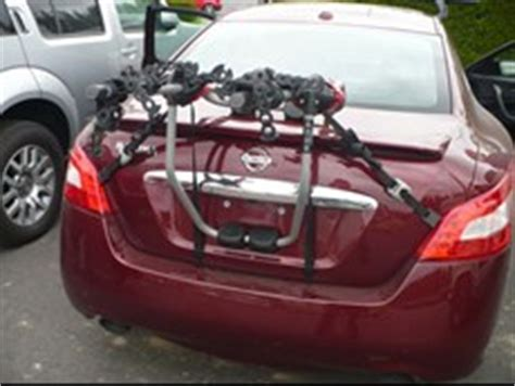 Bike Rack For Nissan Maxima by Trunk Mount Bike Rack Recommendation For A 2011 Nissan