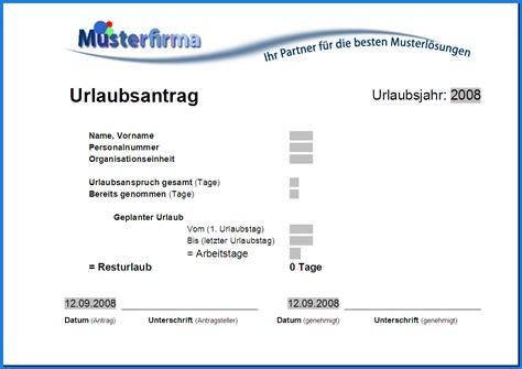 Urlaubsantrag Schreiben Muster 6 Vorlage Urlaubsantrag Invitation Templated