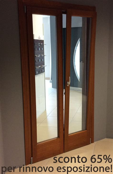 prezzo porta finestra porta finestra legno a 2 ante famm avant plus 68 in rovere