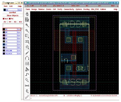 layout design for improved testability in vlsi eecs 427