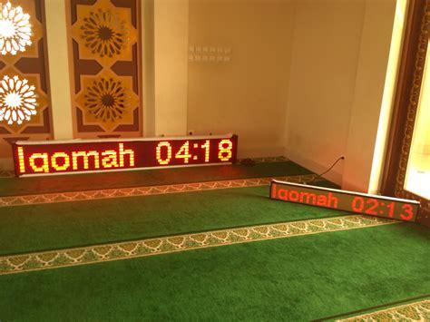Lu Gantung Buat Masjid jam digital buat masjid i pesan di 081281412161