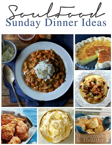 dinner menu ideas mccormick soul food sunday dinner ideas sunday dinners soul food