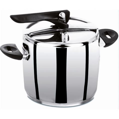 cucinare a pressione pentola a pressione inox 5 lt