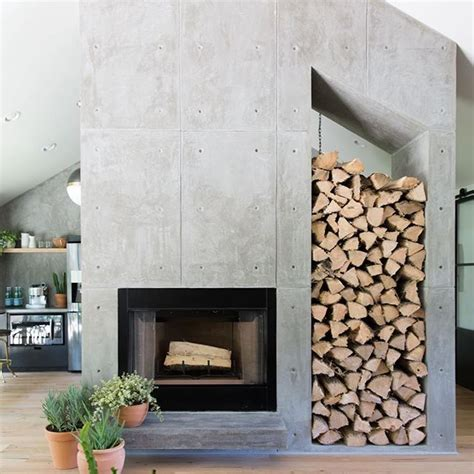 Concrete Fireplace by Best 20 Concrete Fireplace Ideas On