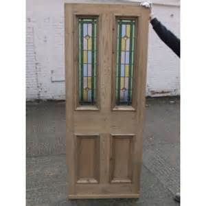 Glass Exterior Door by Sd044 Edwardian Original Stained Glass