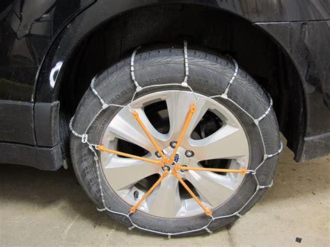 subaru tire chains 2010 subaru outback wagon tire chains glacier
