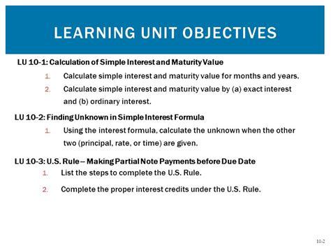 Unit Credit Benefit Formula Simple Interest Chapter Ten Mcgraw Hill Irwin Ppt