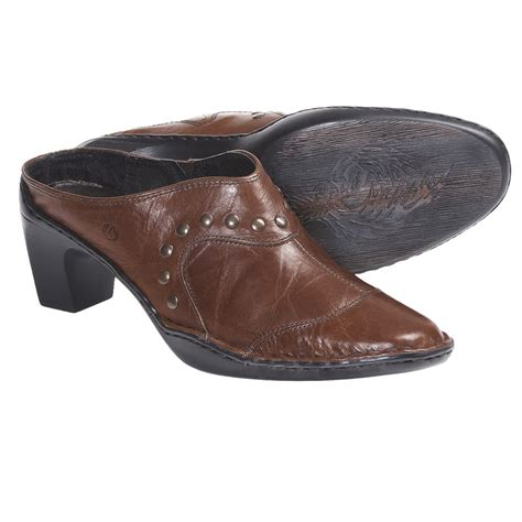 leather clogs for josef seibel leather clogs for 5528t
