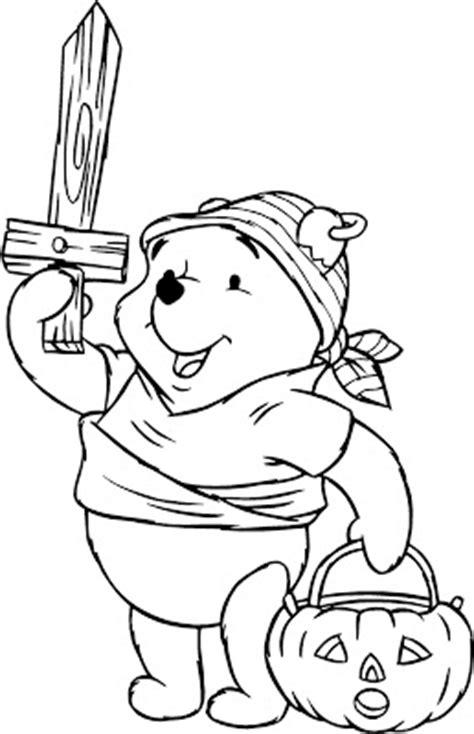 imagenes de halloween de winnie pooh pooh halloween coloring pages gt gt disney coloring pages
