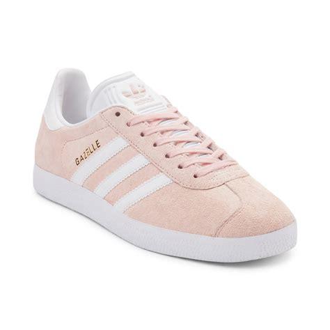 womens adidas gazelle athletic shoe pink