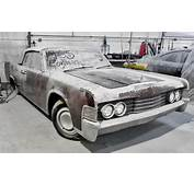 Thick Dust 1965 Lincoln Continental Convertible