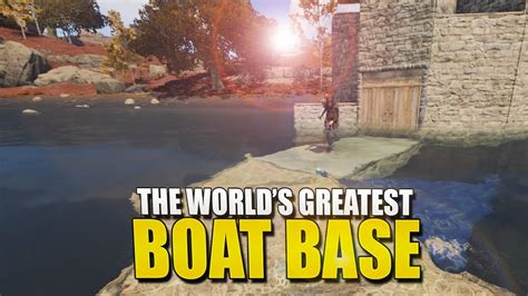 how to make a boat base rust building the world s greatest boat base rust survival