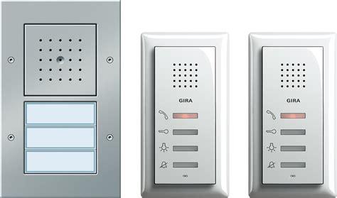 gira  zweifamilienhaus paket audio tuerstation von