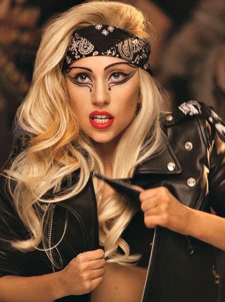 halloween rockstar hairstyles lady gaga makeup tutorial yve style