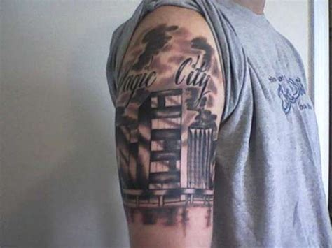 chicago skyline tattoos skyline