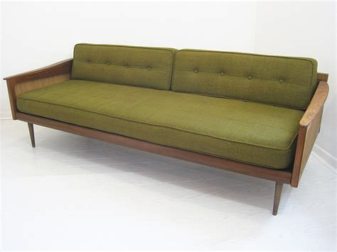 Vintage Mid Century Sofa Sofas Retro Leather Mid Century