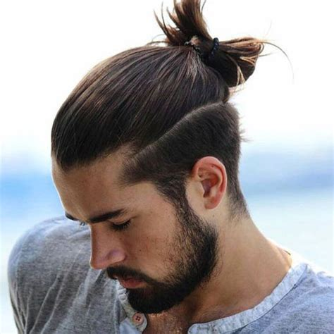 samurai knot hairstyle www imgkid com the image kid