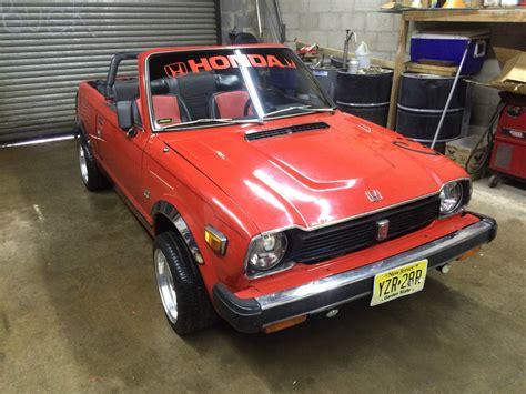 Honda Civic Convertible by 1978 Civic Convertible