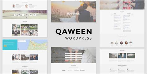qaween wedding wordpress theme themekeeper com