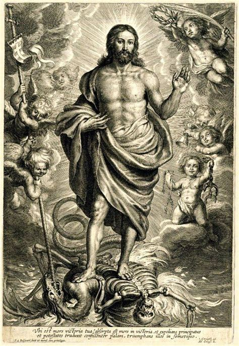 jesus tattoo in revelations christ s final triumph over the devil and death allegory