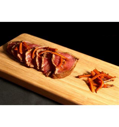 tatami de tataki de boeuf viande aubrac