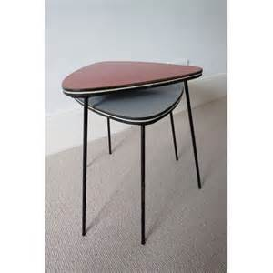 Retro Side Table Vintage Retro 50s 60s 2 Coffee Tables Side Tables Mid Century Modern Kitsch