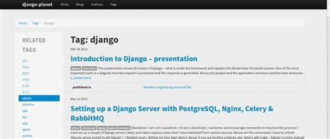 django planet python package manager index pypm