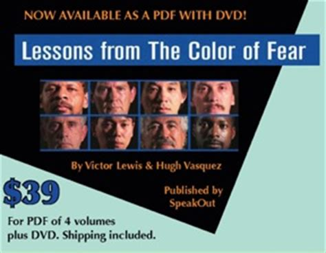 the color of fear lessons from the color of fear curriculum pdf dvd