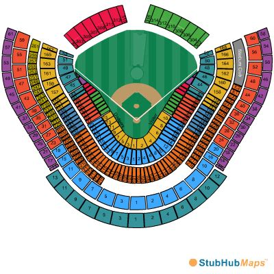dodger stadium seating chart pictures directions and
