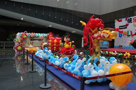 dragon boat festival decorations overseas projects jocelynballoons the leading balloon