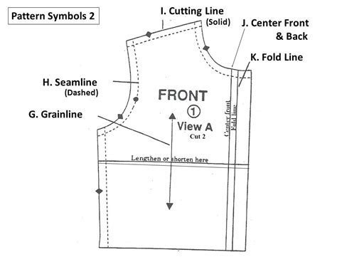 pattern fold line pattern symbols ppt download