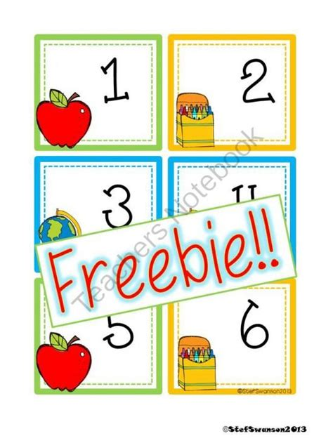 number pattern cards freebie back to school calendar cards abcc pattern from